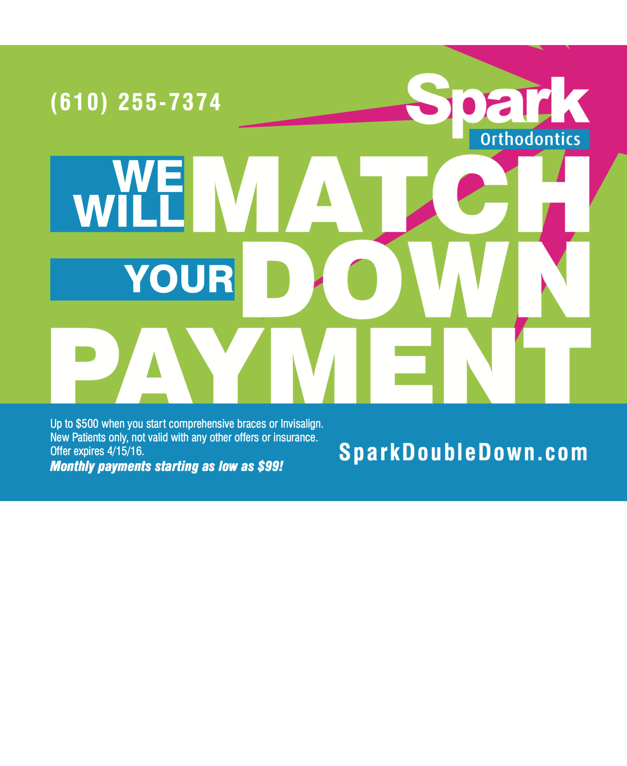 spark orthodontics double down