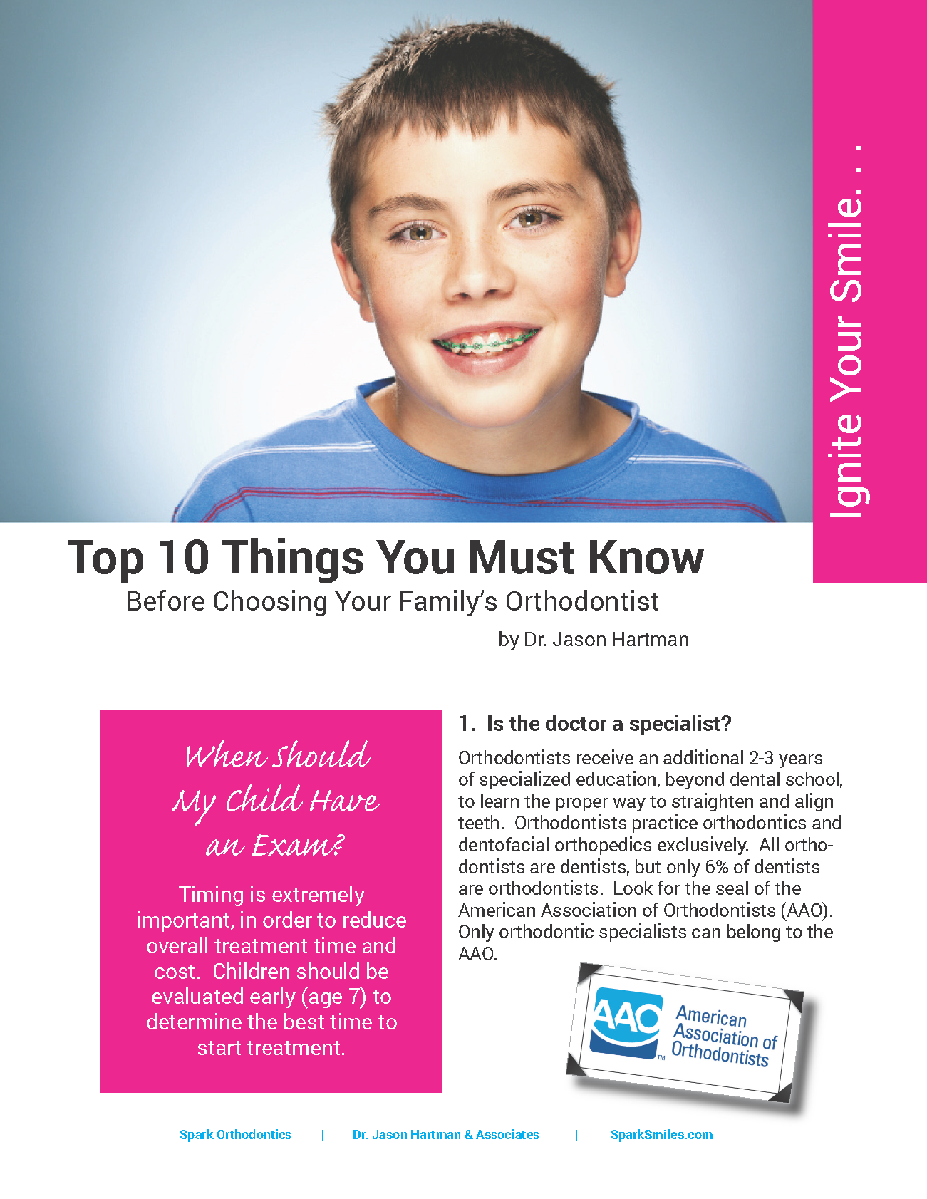 spark orthodontics top 10