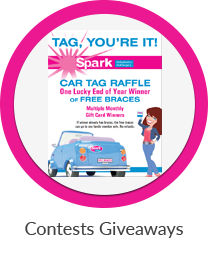 contests giveaways at spark orthodontics